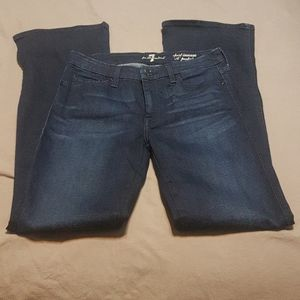 7 for all mankind A pocket flared jeans